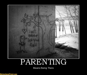 great parenting grafitti