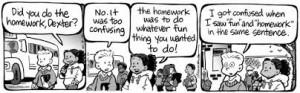 fun homework